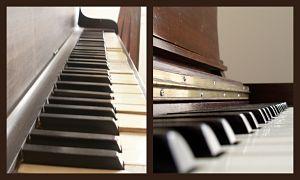 claviers de pianos d'occasion