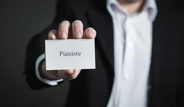 Se créer une identité de pianiste