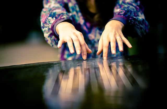 Habitude pour jouer du piano